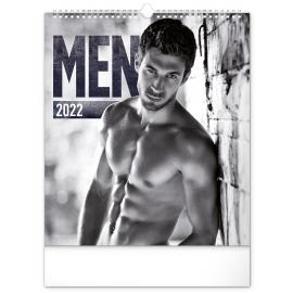 Wall calendar Men 2022, 30 × 34 cm