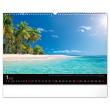 Nástěnný kalendář Moře 2021, 48 × 33 cm