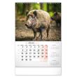 Wall calendar Hunting CZ 2021, 33 × 46 cm