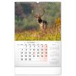 Nástěnný kalendář Myslivecký 2022, 33 × 46 cm