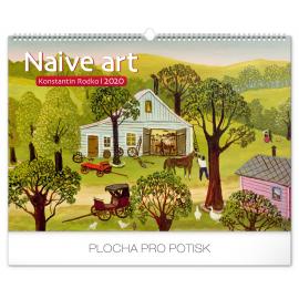 Nástěnný kalendář Naivní umění – Konstantin Rodko 2020, 48 × 33 cm