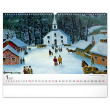 Nástěnný kalendář Naivní umění – Konstantin Rodko 2021, 48 × 33 cm