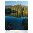Nástěnný kalendář Národné parky Slovenska SK 2018, 33 x 46 cm