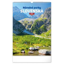 Wall calendar National Parks of Slovakia SK 2021, 33 × 46 cm