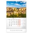 Nástěnný kalendář Naše Slovensko 2020, 33 × 46 cm