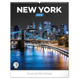 Wall calendar New York 2020, 48 × 56 cm
