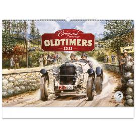 Nástěnný kalendář Oldtimers – Václav Zapadlík 2022, 64 × 42 cm