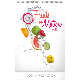Wall calendar Fruits in Motion 2018, 33 x 46 cm
