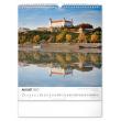 Nástěnný kalendář Pamätihodnosti Slovenska SK 2021, 30 × 34 cm
