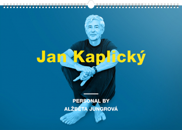 Nástěnný kalendář Personal by Alžběta Jungrová – Jan Kaplický 2018, 48 x 33 cm