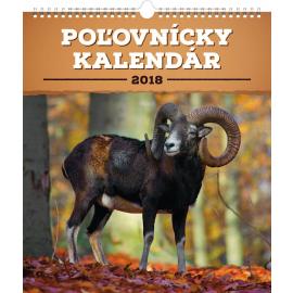 Wall calendar Poľovnícky SK 2018, 30 x 34 cm