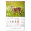 Nástěnný kalendář Poľovnícky SK 2020, 33 × 46 cm