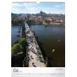 Nástěnný kalendář Praha 2018, 33 x 46 cm
