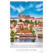 Nástěnný kalendář Praha 2019, 33 x 46 cm