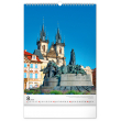 Nástěnný kalendář Praha 2021, 33 × 46 cm