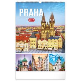 Wall calendar Prague 2022, 33 × 46 cm