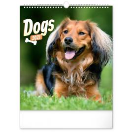Wall calendar Dogs 2021, 30 × 34 cm