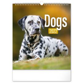 Wall calendar Dogs 2022, 30 × 34 cm