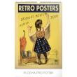 Nástěnný kalendář Retro plakáty 2019, 33 x 46 cm