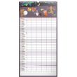 Nástěnný kalendář Rodinný plánovací XXL 2018, 33 x 64 cm