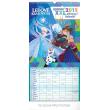 Nástěnný kalendář Rodinný plánovací XXL – Ledové království 2019, 33 x 64 cm