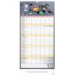 Nástěnný kalendář Rodinný plánovací XXL SK 2019, 33 x 64 cm
