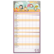 Nástěnný kalendář Rodinný plánovací XXL SK 2021, 33 × 64 cm