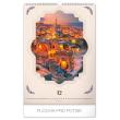 Nástěnný kalendář Romantická zákoutí 2020, 33 × 46 cm