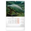 Nástěnný kalendář Rybářský 2021, 33 × 46 cm