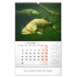 Nástěnný kalendář Rybářský SK 2020, 33 × 46 cm