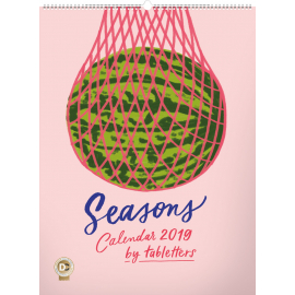 Wall calendar Seasons, Studio Tabletters 2019, 48 × 64 cm