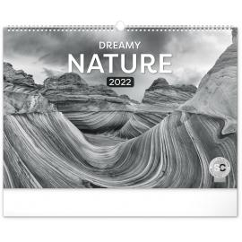 Nástěnný kalendář Snová krajina 2022, 48 × 33 cm