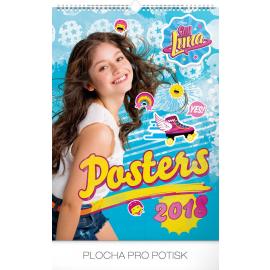 Nástěnný kalendář Soy Luna – Plakáty 2018, 33 x 46 cm