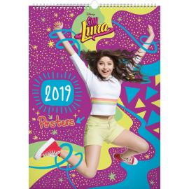 Nástěnný kalendář Soy Luna – Plakáty 2019, 33 x 46 cm