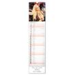 Nástěnný kalendář Spicy Girls 2020, 12 × 48 cm