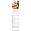 Nástěnný kalendář Spicy Girls 2022, 12 × 48 cm