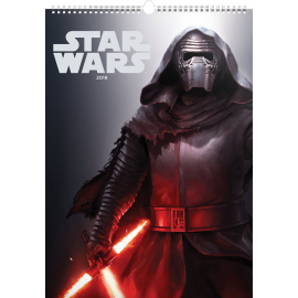 Wall calendar Star Wars – Posters 2018, 33 x 46 cm