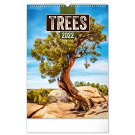 Wall calendar Trees 2022, 33 × 46 cm