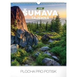Wall calendar Šumava tajemná 2018, 30 x 34 cm