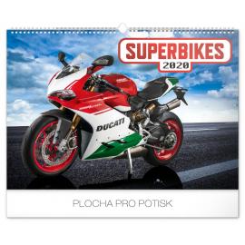 Wall calendar Superbikes 2020, 48 × 33 cm