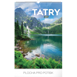 Wall calendar Tatras 2019, 33 x 46 cm