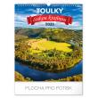 Nástěnný kalendář Toulky českou krajinou 2020, 30 × 34 cm