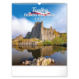 Wall calendar Wandering Czech Landscape 2021, 30 × 34 cm