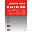Nástěnný kalendár Trhací týždenný 2022 SK, A5