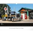 Nástěnný kalendář Trucks 2019, 48 x 33 cm