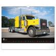 Nástěnný kalendář Trucks 2021, 48 × 33 cm