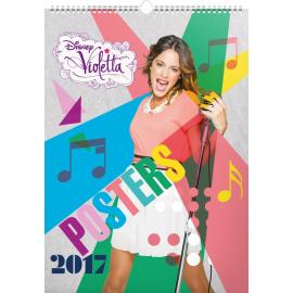 Nástěnný kalendář Violetta – Plakáty 2017, 33 x 46 cm