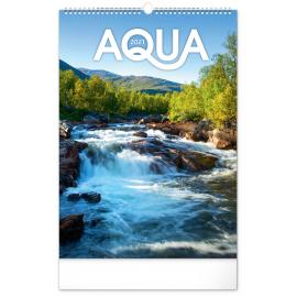 Nástěnný kalendář Voda 2021, 33 × 46 cm