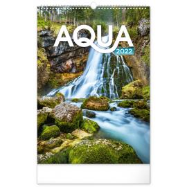 Wall calendar Aqua 2022, 33 × 46 cm