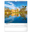 Nástěnný kalendář Vodní království  – české přehrady 2022, 30 × 34 cm